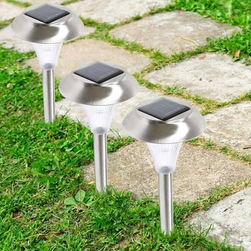 Solarek GPCT-472 Stainless Steel Solar Lawn Light